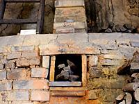 Front of Climbing kiln