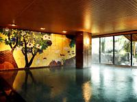 男性大浴場「白鳥の湯」