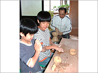 Experience of making pottery