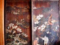 小松城の板戸