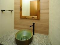 きれいな洗面所も新設