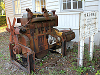 Diesel engine of Ogoya railway
