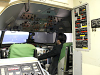 YS-11 flight simulator