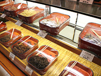 Various foods boiled down in soy