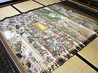 仏涅槃図(小松市指定文化財)