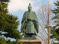 加賀藩3代藩主前田利常像/芦城公園