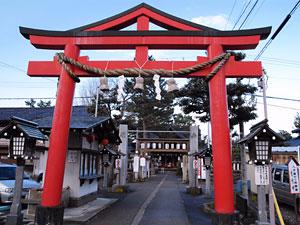 Motoori Hiyoshi Jinja Shrine
