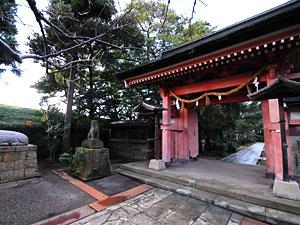 神門は社殿共々国の重要文化財