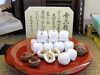 茶人好みの銘菓「雪花糖」