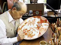 Traditional craftsman Mr. Nishi