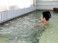During bathing