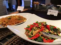 野菜を使った多彩な料理