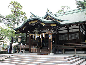 莵橋神社(お諏訪さん)
