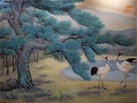 創業者が描いた日本画