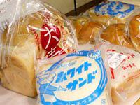 懐かしサンドと最新の大麦パン