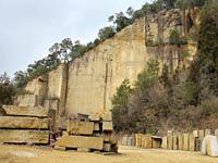 現在の採石場