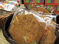 「曳山煎餅」は小松土産にぴったり