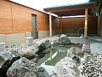 屋根付 露天風呂