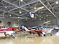 見て触れて楽しめる航空機実物展示