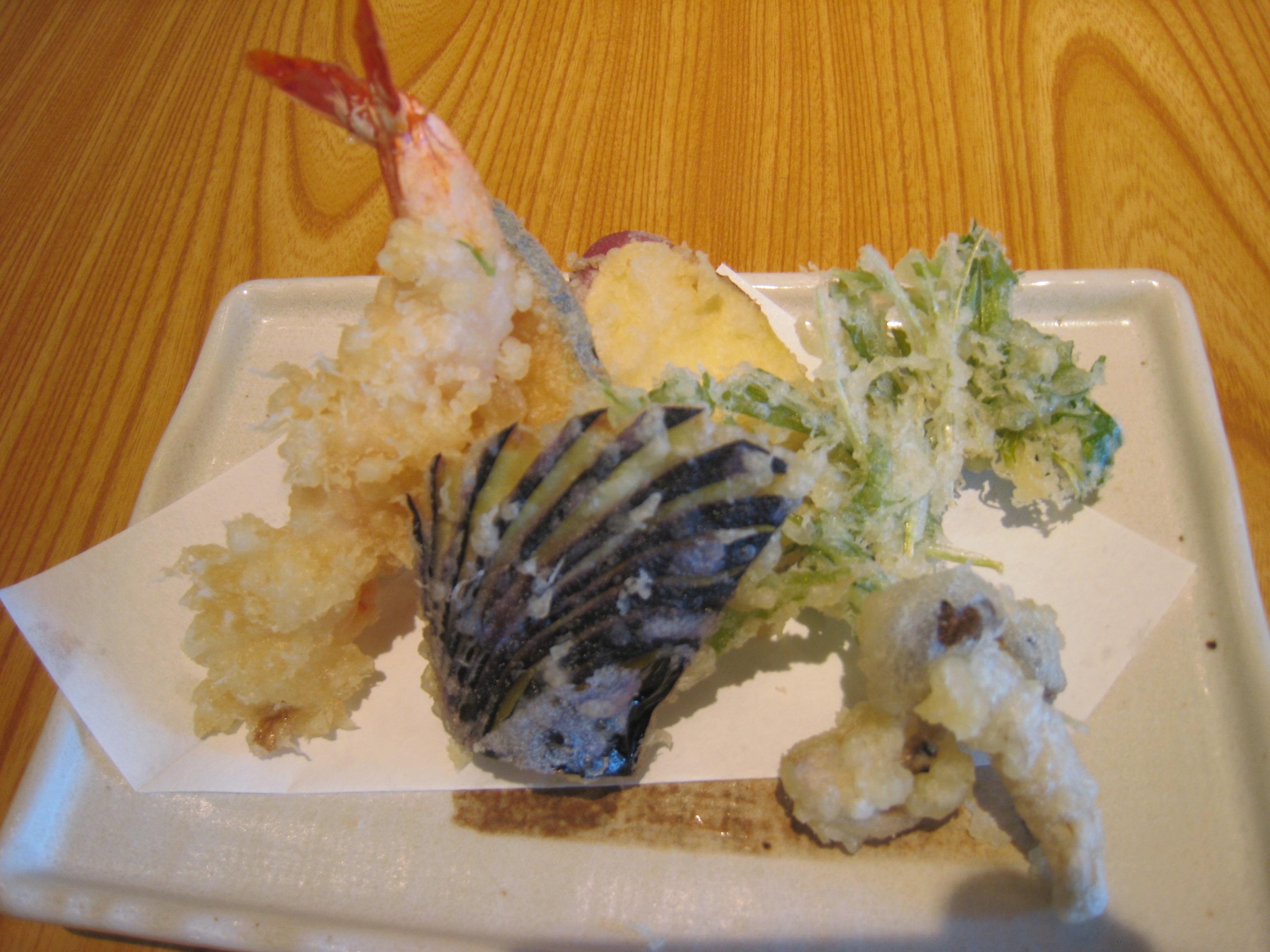 サックサク天ぷら6種